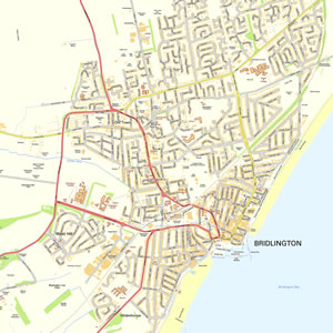 Bridlington Map