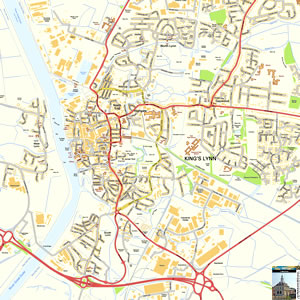Kings Lynn Map