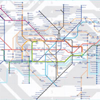 London Tube Offline Map, including the Northern, Piccadilly ...