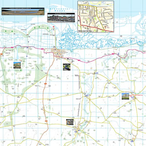 North Norfolk Coast Map
