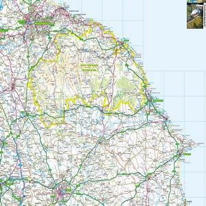 North York Moors Map