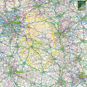 Peak District Map