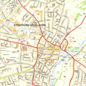 Stratford Upon Avon Map