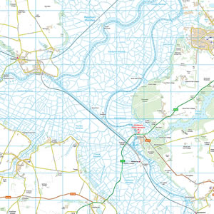 Southern Broads Map